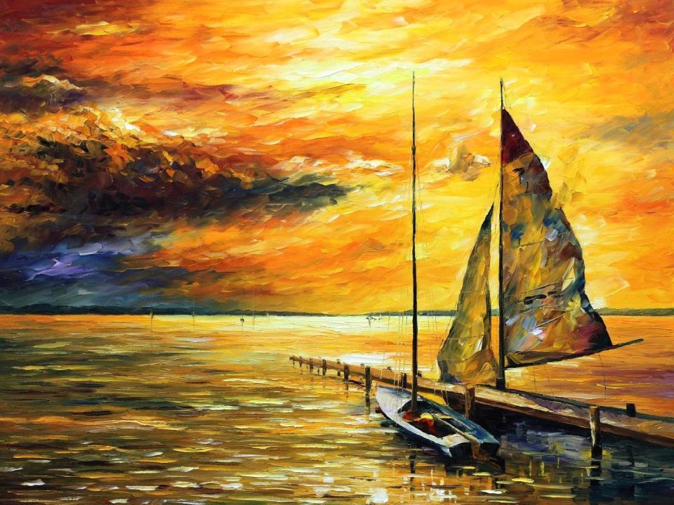 2114  Sailing Away 30 x 40 - 6