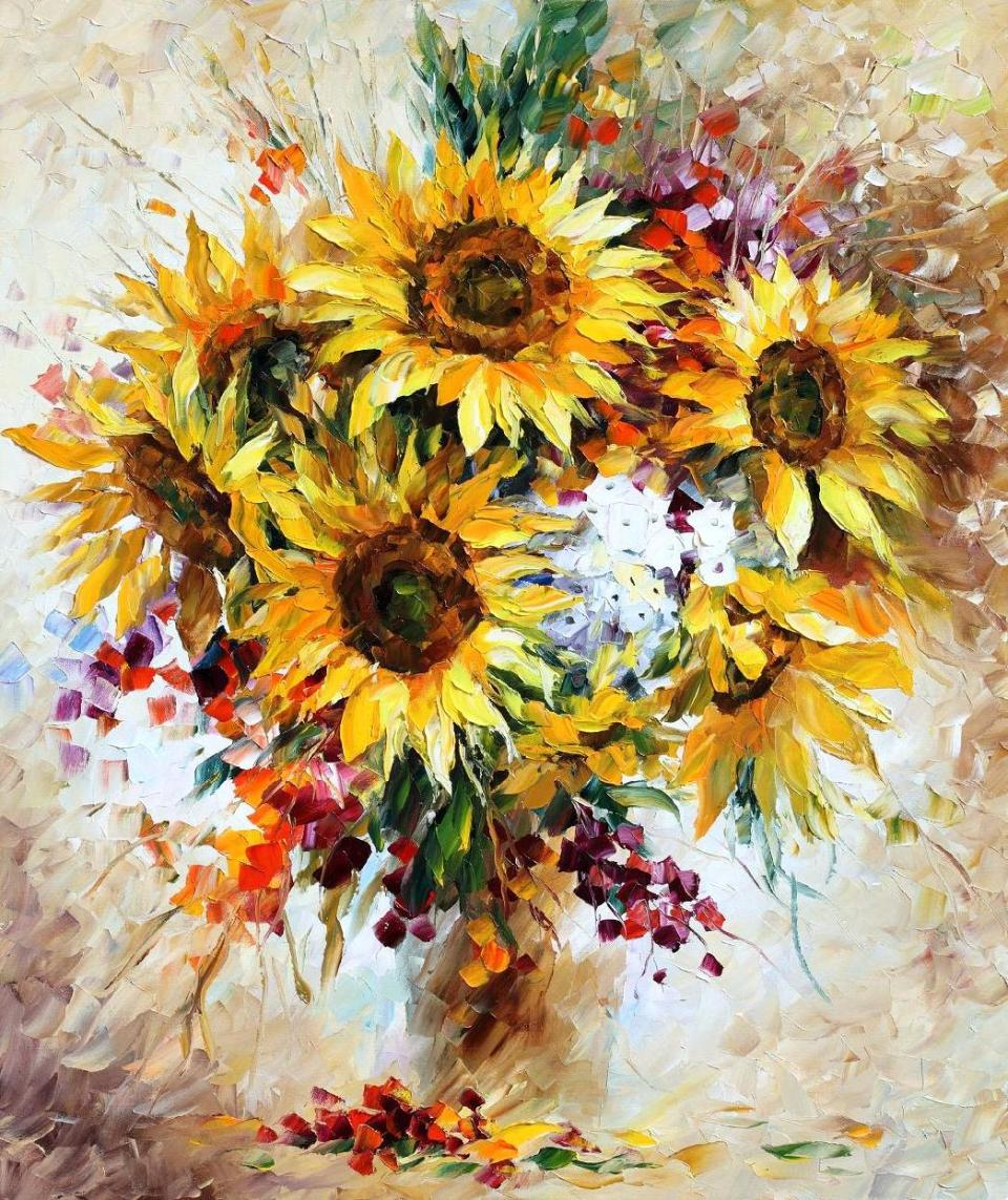 2121  sunflowers 2 30x36 - 26
