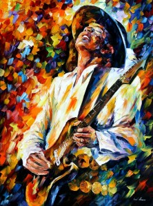 1142     40x30   STEVIE RAY VAUGHAN 2 - 5