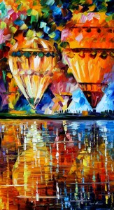 1359   36X20    BALLOON REFLECTIONS - 5