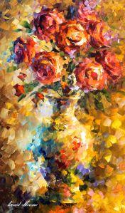 2433 Wild roses 15x25