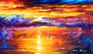 2438 The sunset of emotions 15x25