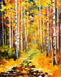 2440 Tall Birches  16x20