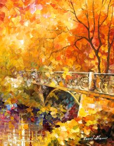2441 The embassay of Autumn  16x20