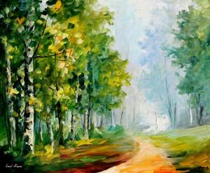 919    36x30   SUMMER FOREST  -11